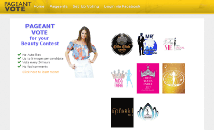 Buy 100 pageantvote votes your online contest Polls