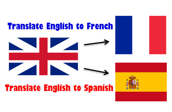 Translation from English to French your word document
