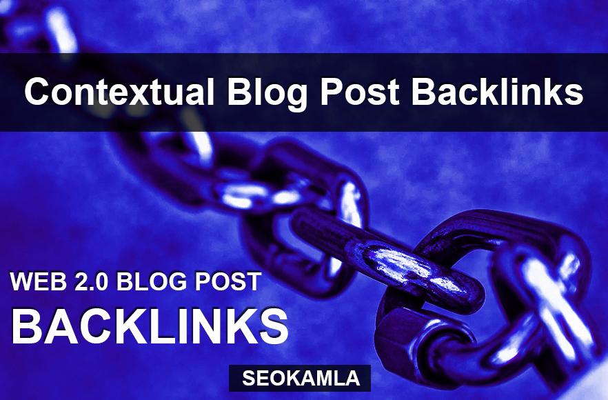 30 Web 2.0 Blog Post Backlinks 2019 Best Results