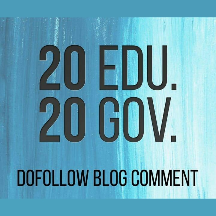 Do 20. edu and 20. gov DOFOLLOW BLOGCOMMENTS Backlinks Improve Google SEO With Perfect links.