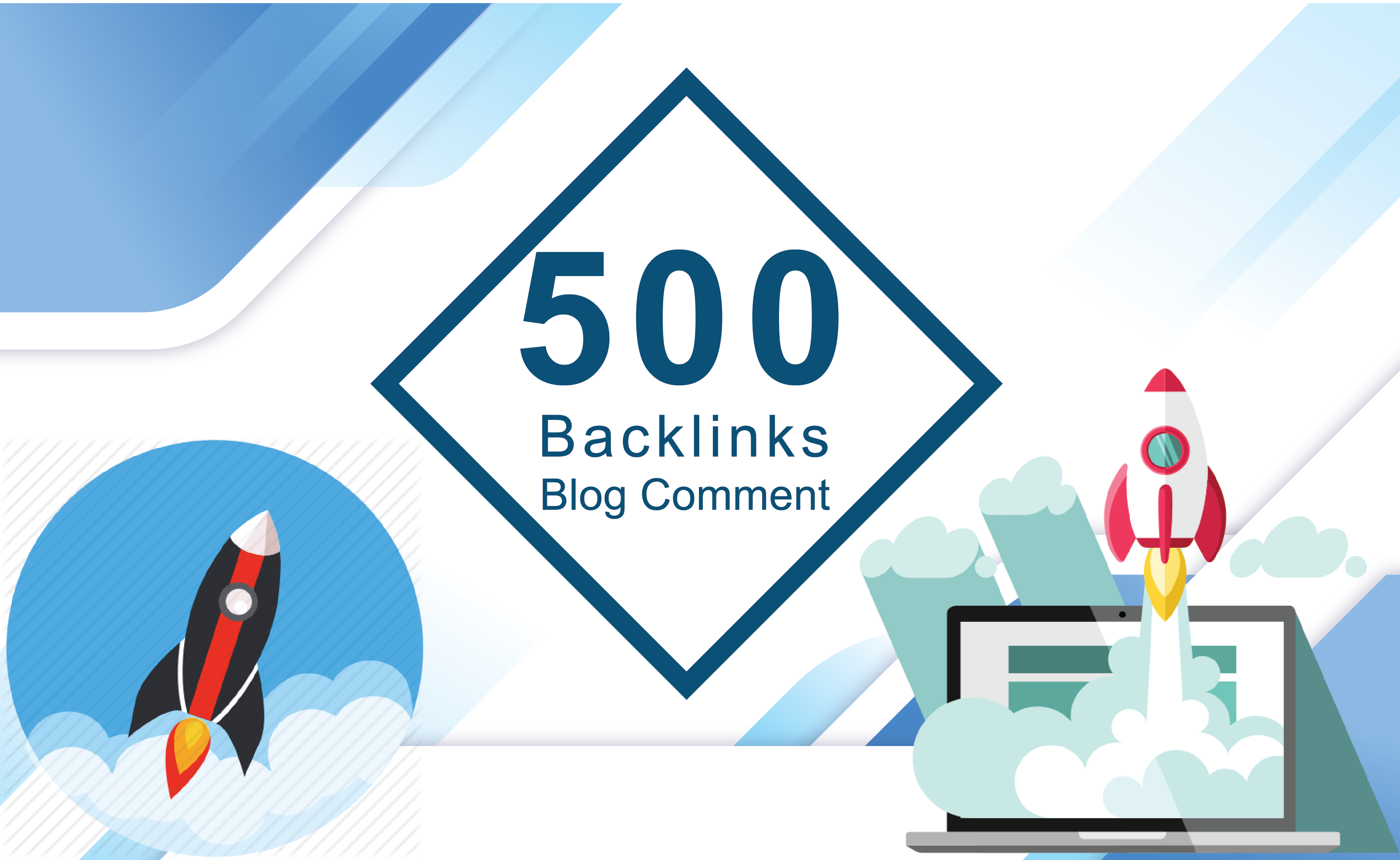 Do 500 High Quality  Blog Comments Backlinks