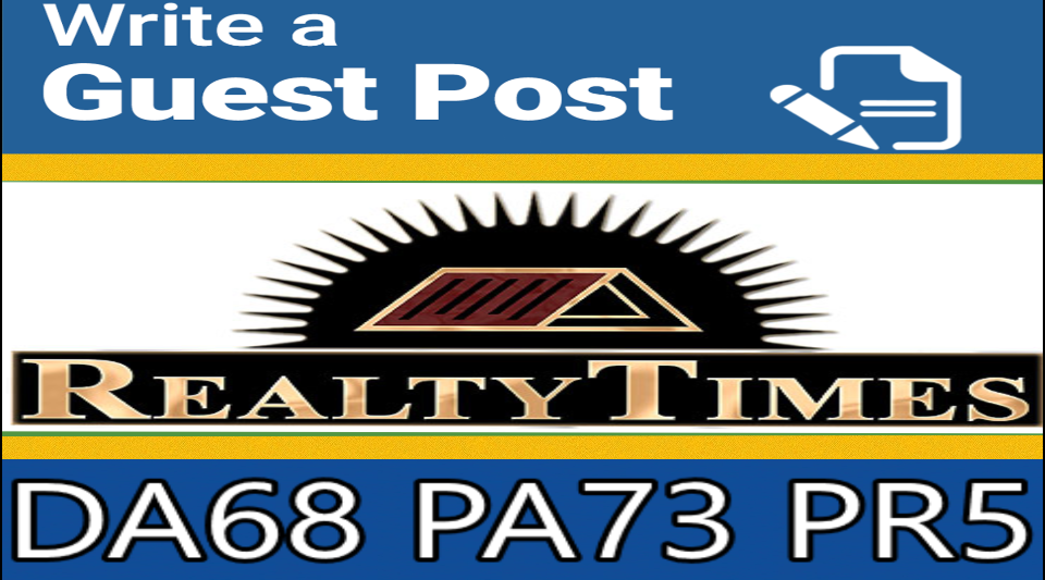 Publish on Home Improvement Site Realtytimes with Dofollow Backlink