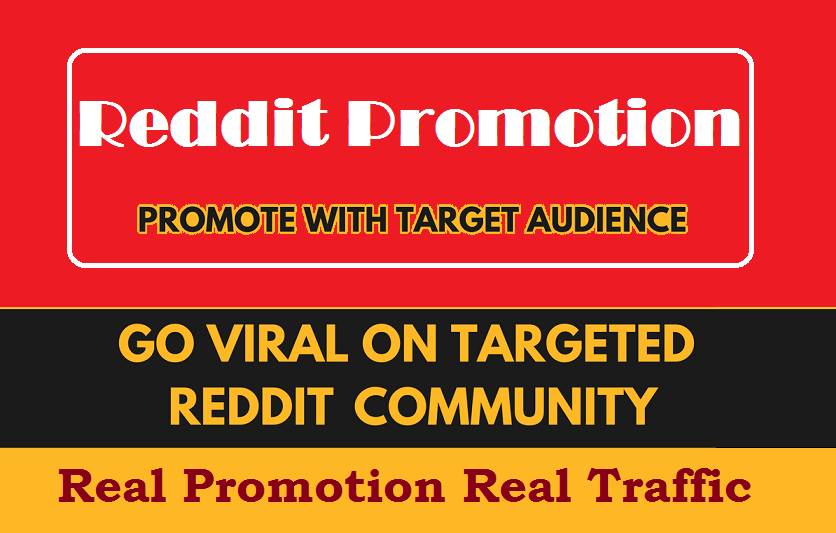 Promote your website on Reddit to Drive Massive Traffic