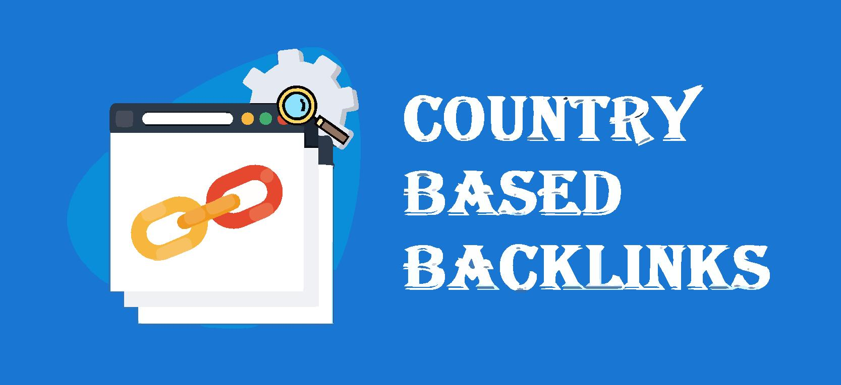 10 Country Based Backlinks-Country specific domains