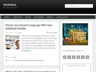 Techotalk - Best high quality technology blog