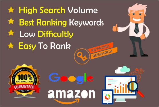 I Will Do Deeply And Profitable SEO Keyword Research And Backlink Analysis