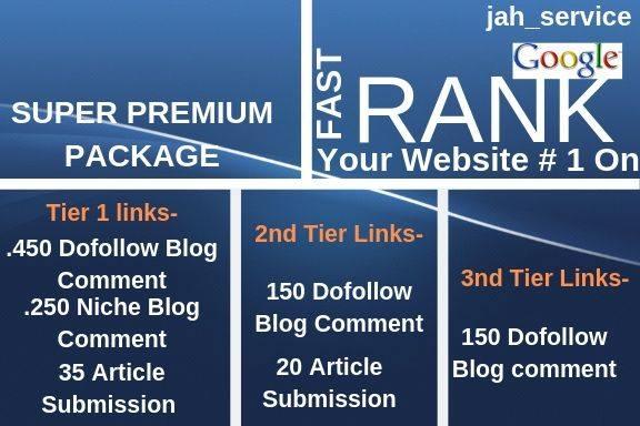 Rank Your Website On Google 30 Days Dofollow Backlinks Manually