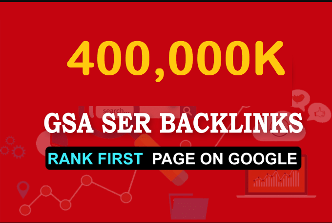 400k High Quality GSA Ser Backlink For Your Site Ranking 1st Position