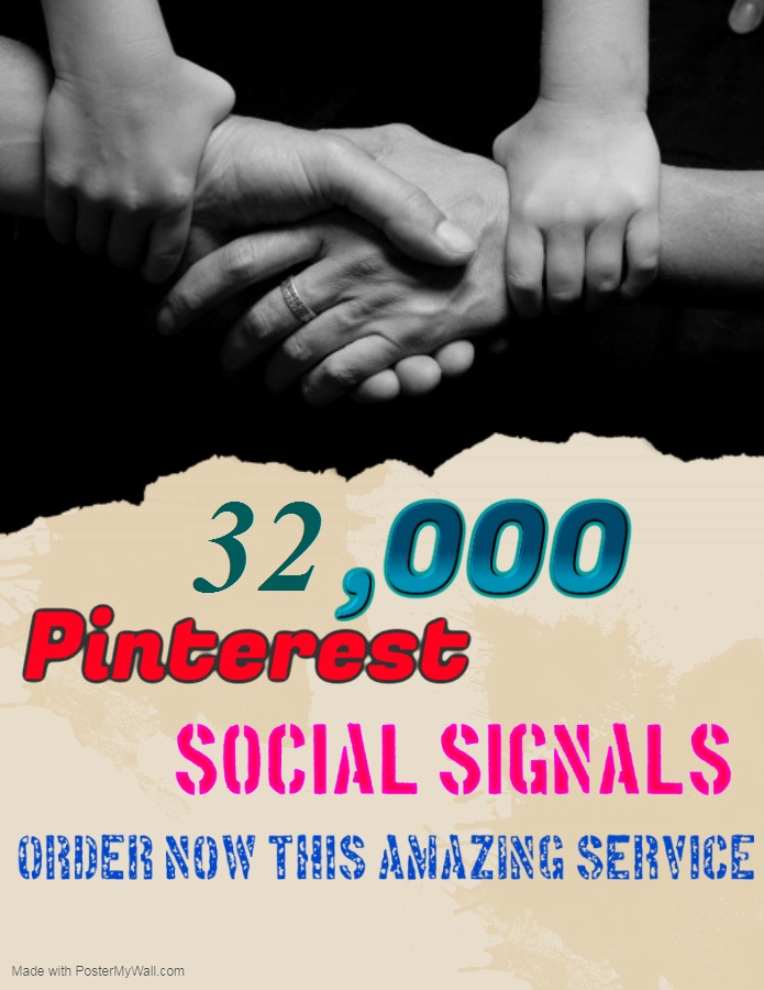 TOP fast Add 32,000+ pinterest Social Signals to Improve SEO and Boost Google Ranking