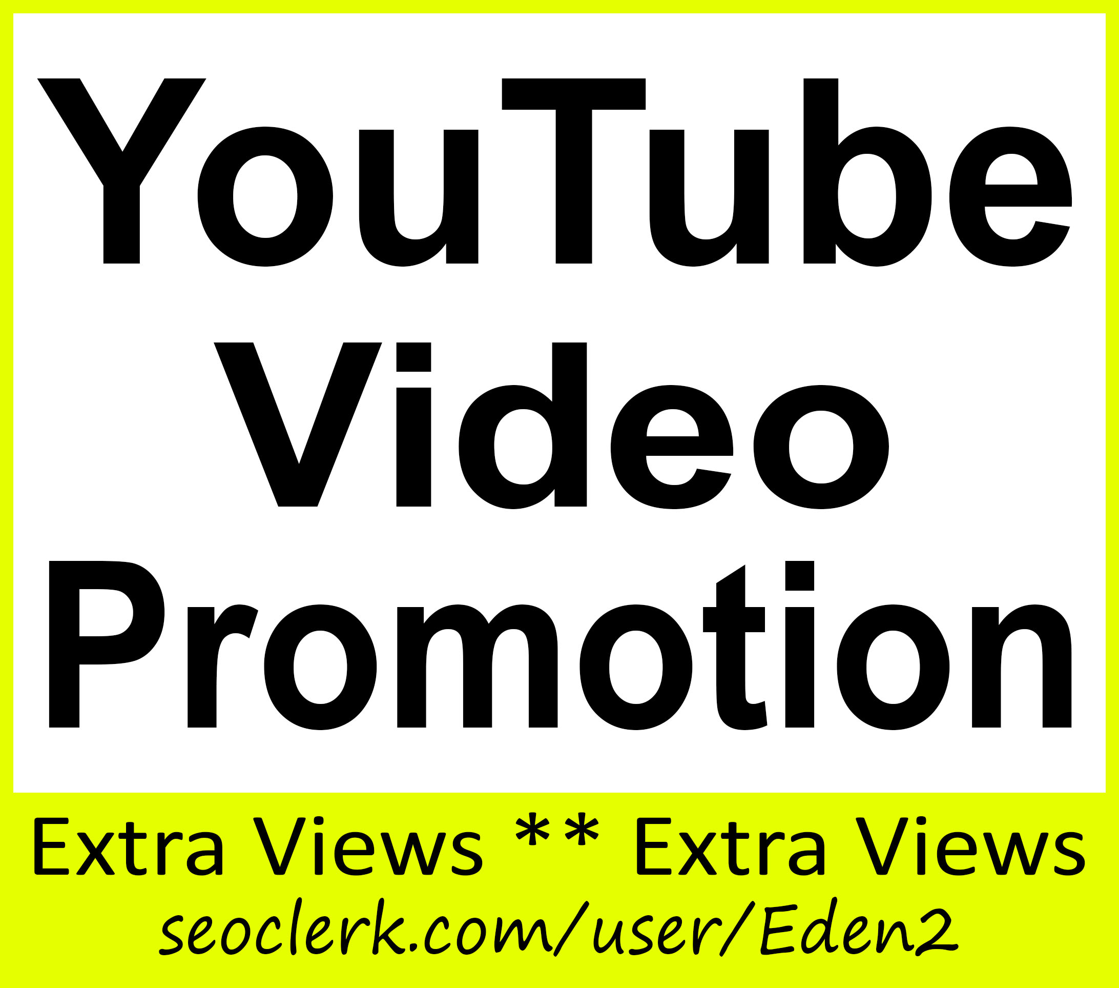 YouTube Video Promotion High Quality & Good For Ranking