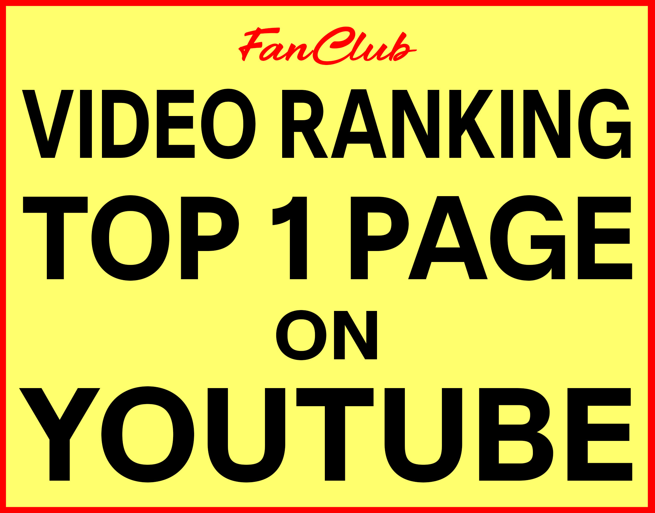 Video Ranking Top 1 Page On YouTube - 99% Success Rate