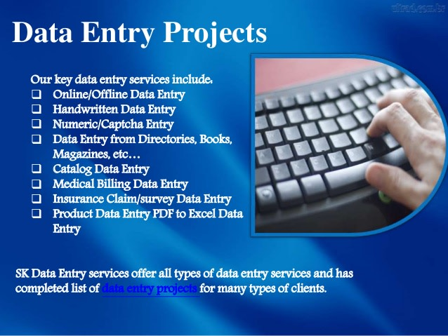 Complete Any Type Of Data Entry Jobs