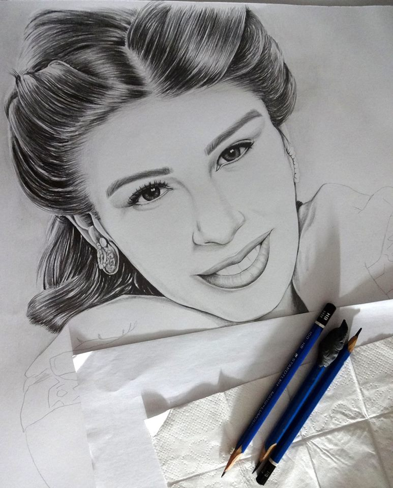 Hand Draw A Realistic Pencil Drawing Or Portrait limited edition