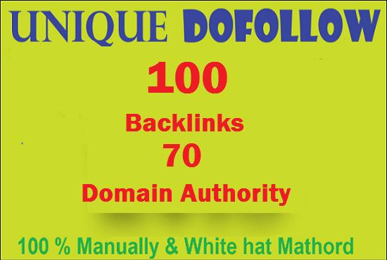 Give pr9 DA 70 Dofollow Backlinks For Google ranking