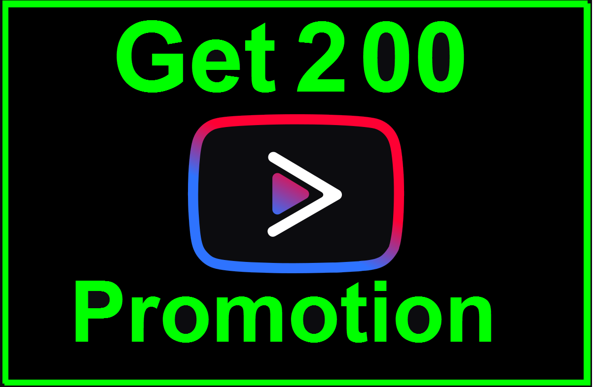 Get 200 Social Media Promotion Non-Drop Guaranted