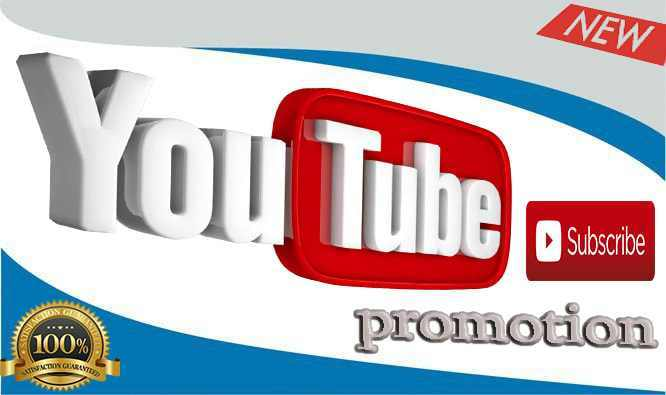 YouTube Promotion Social Media Marketing Member