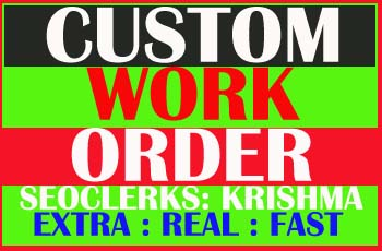 Custom Work with Instant Delivery Order for my close friends