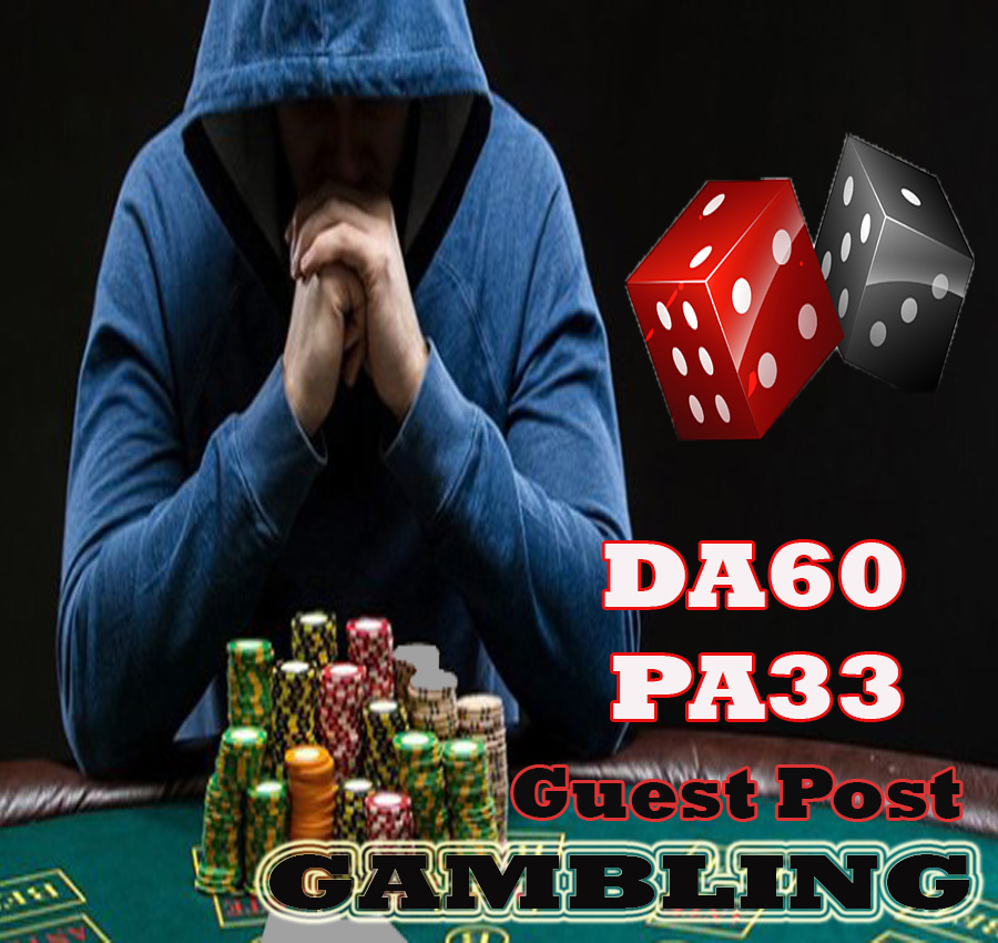 Give Your Backlink On DA60 PA33 GAMBLING guestpost permanent