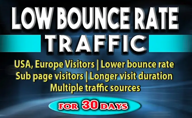 Drive Real 45000 Organic Targeted Web Traffic