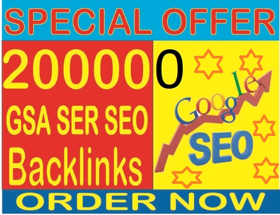 Rank your website 1 in Google-Do 200,000 GSA SER Do follow Highest Quality & Most Effective Backlinks