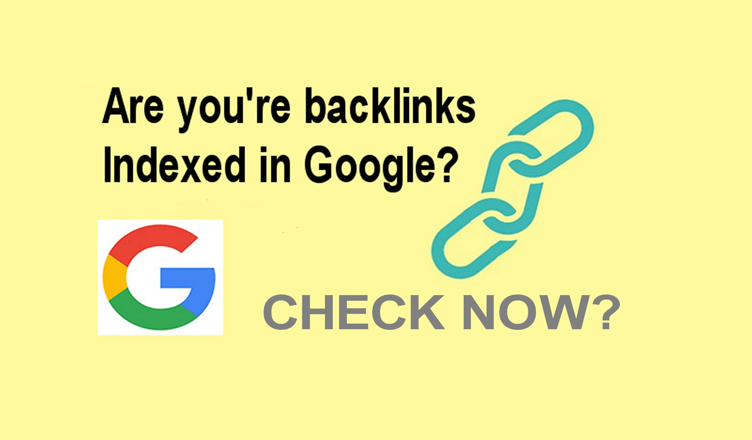 Check if you're backlinks are indexed in google