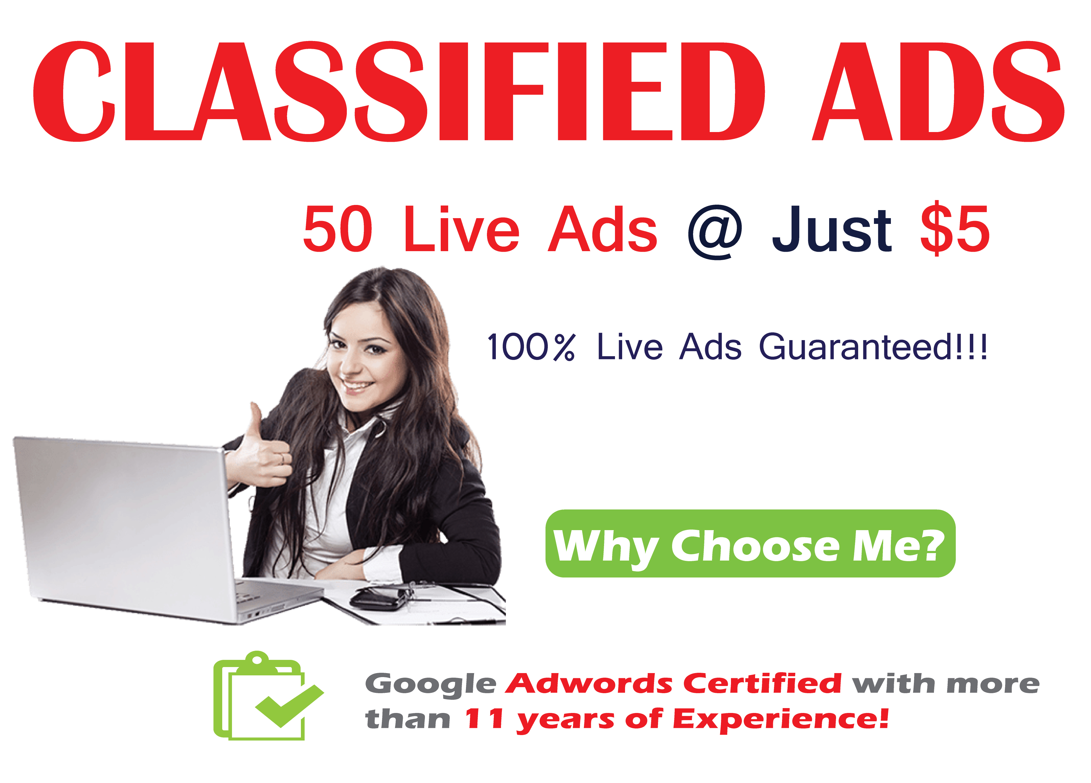 High Authority Classified Ads Posting Service