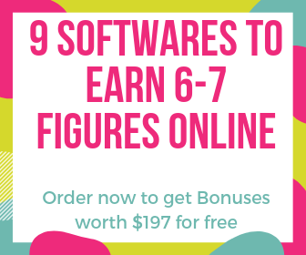 9 SOFTWARES TO TAKE YOUR ONLINE INCOME TO 6-7 FIGURES