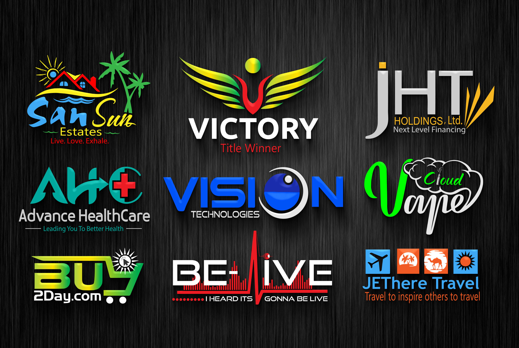 Design an awesome 3D logo for your business or company