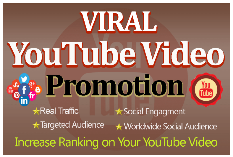 Organic NON-DROP VIDEO youtube PROMOTION