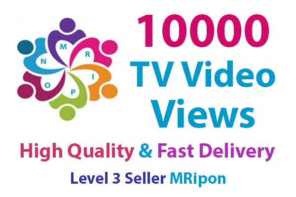Add Instant High Quality Real Social Video Views Promotion