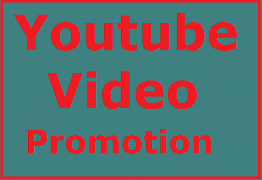 Youtube video promotion High quality, safe and instant