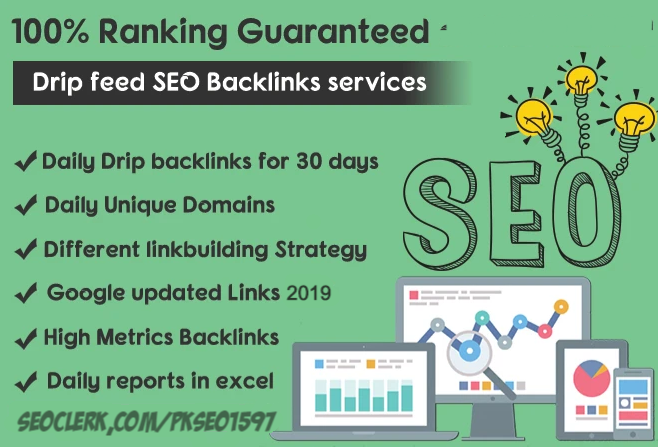 Improve Your Serp With Dripfeed Seo Backlinks Daily Unique Domain High Quality Work Provide