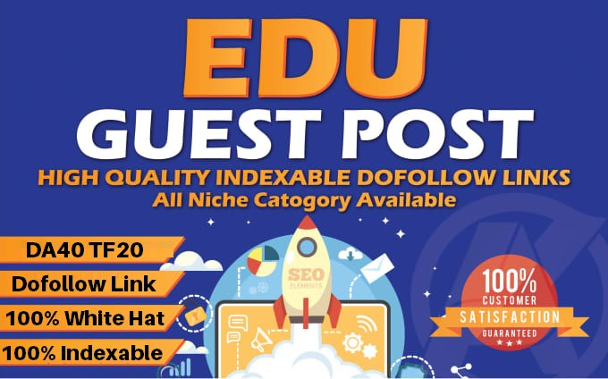 .EDU Guest Posting - Publish Guest Post on DA40 .edu domain site