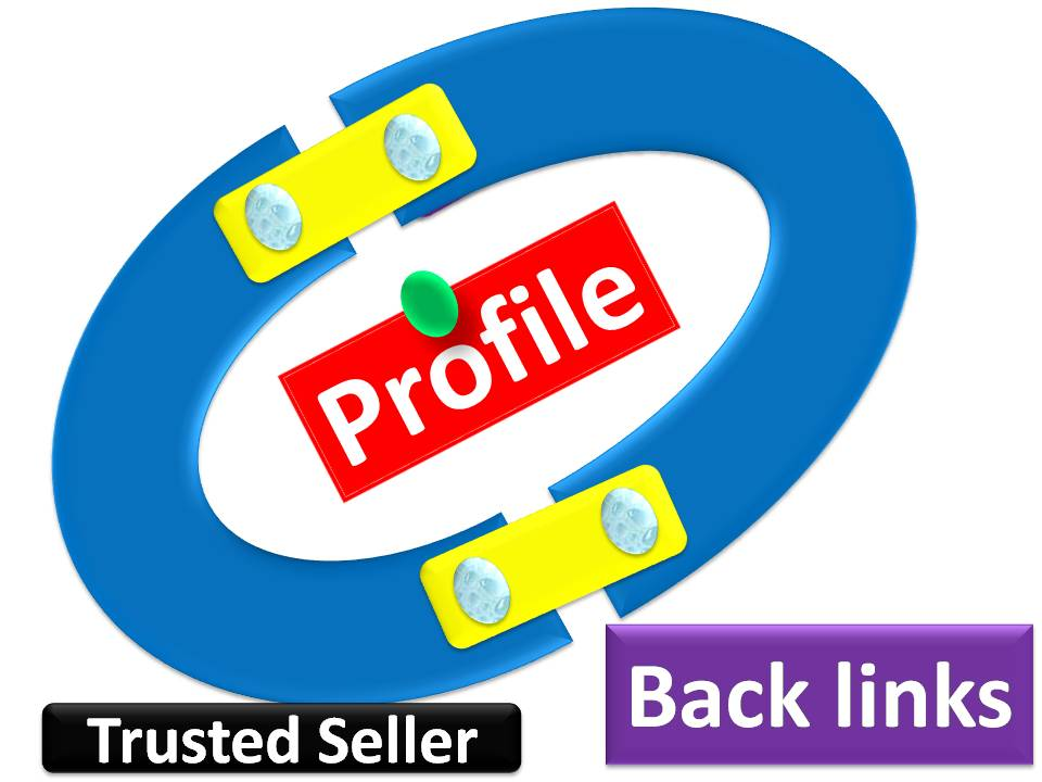 Manual high 10 Authority Profile Backlinks with and trust links