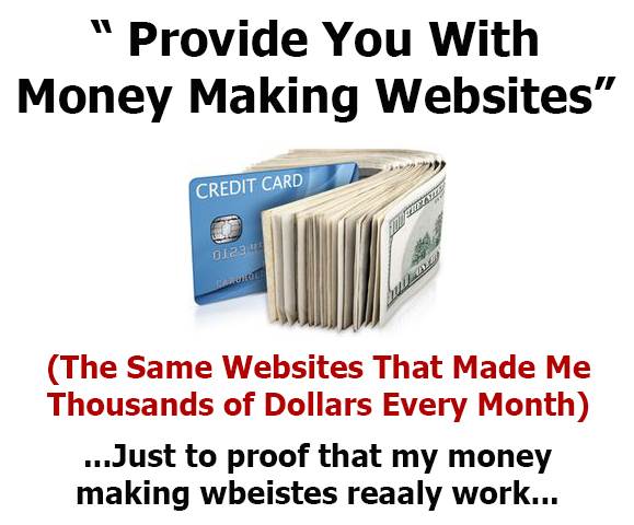 Provide A Ready Made Money Making Website To Start Generate Income Online