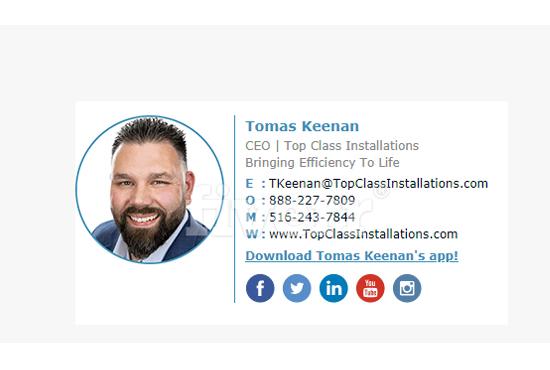 Create Professional Clickable Email Signature
