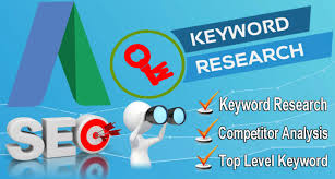 Do Keywords Research And Competition Analysis For Your Website