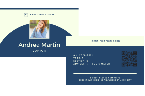 Design professional id card in 3 hours