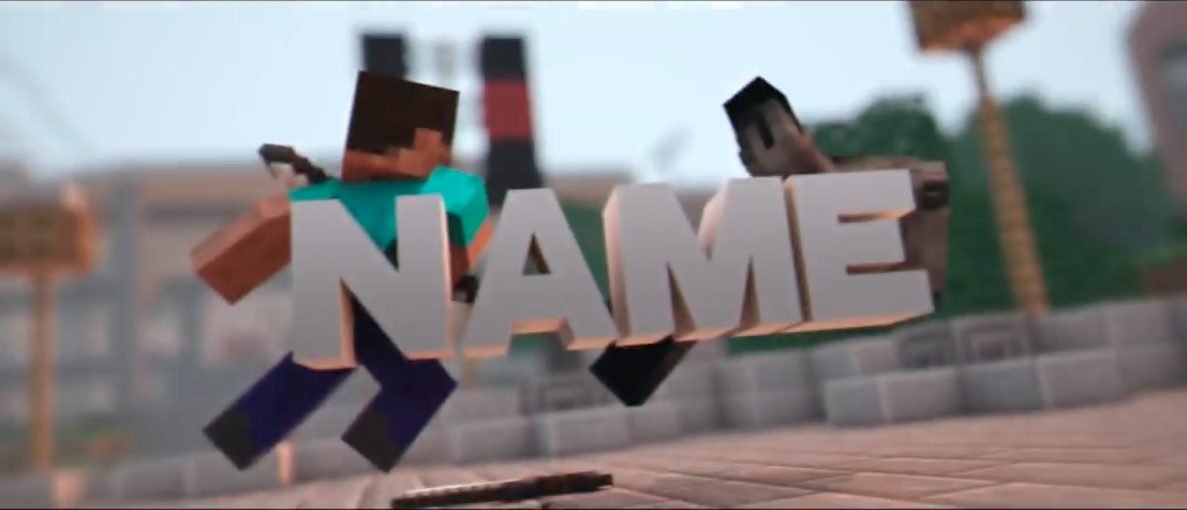 Create A 3D Minecraft Intro for your Gaming