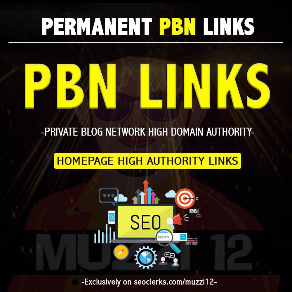 Give You 5 PBN Backlinks High Authority Links
