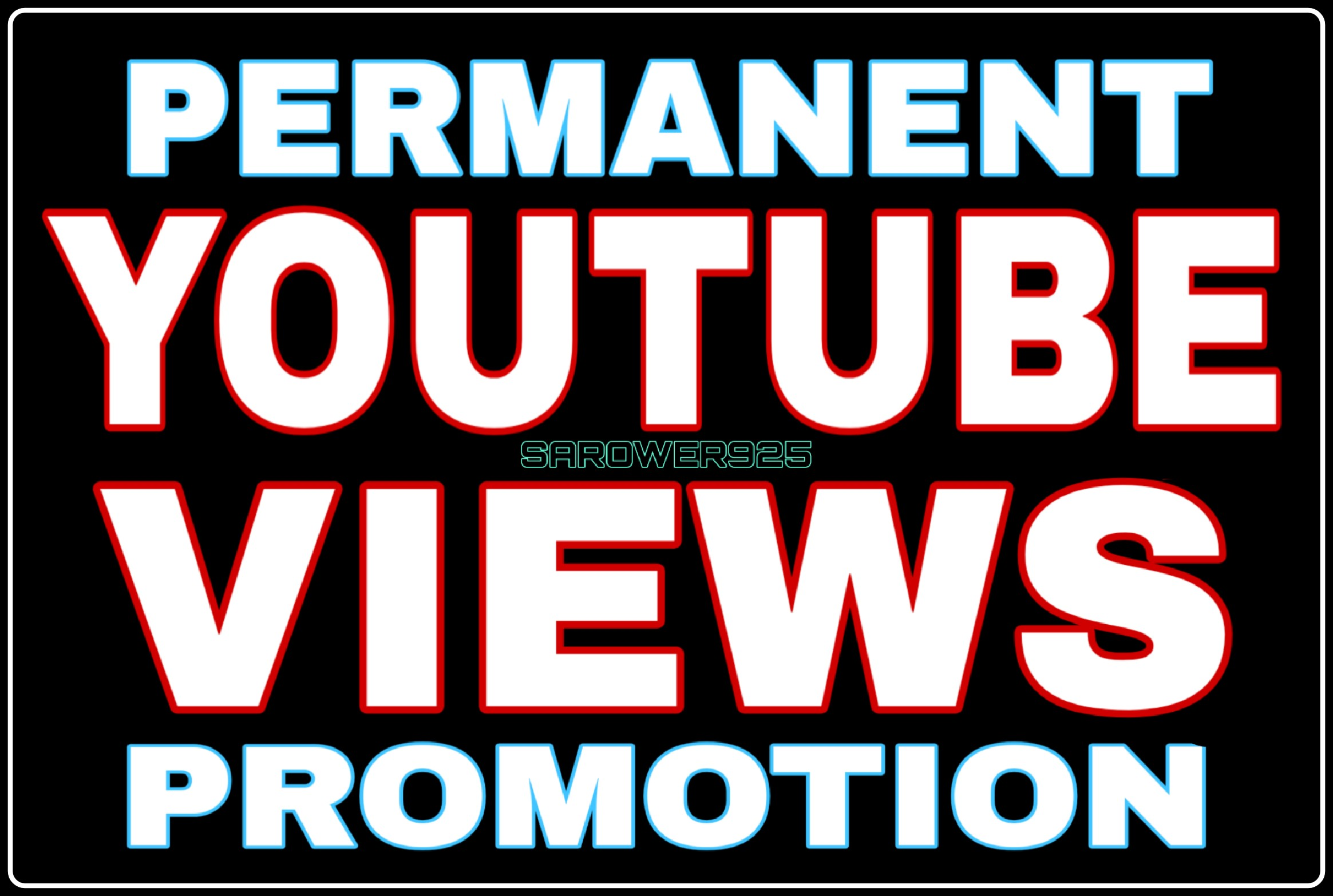 High Quality youtube video promotion very fast