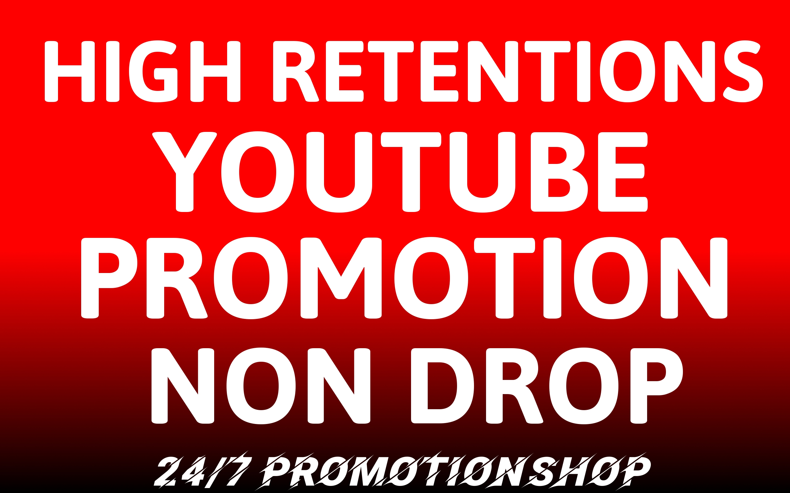YouTube Video Premium and Organic Promotion Package