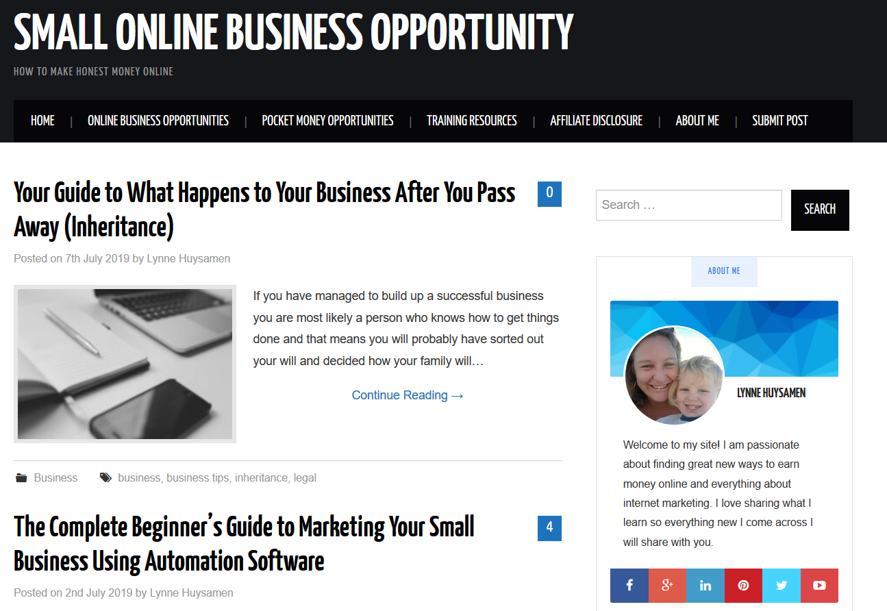 Guest Post on Smallonlinebusinessopportunity. com,  Dofollw Link