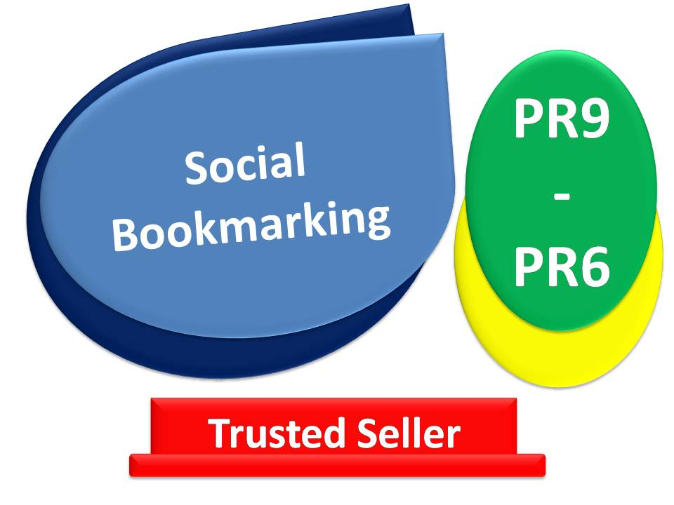 Get Rank 5 Top Social Bookmarking sites PR9 - PR6 - With fast delivery
