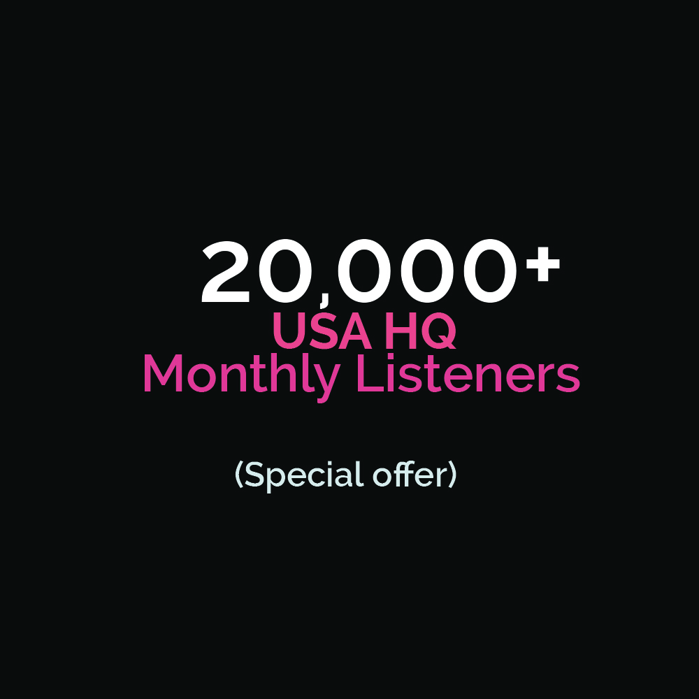 Get 15000+ USA Monthly Listeners! Special Discount