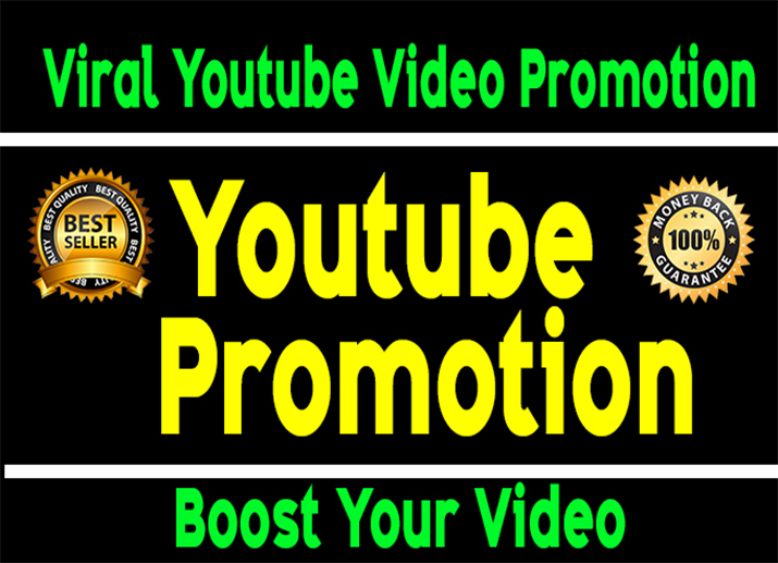 Viral Youtube Video Promotion Real and Organic through social Marketing