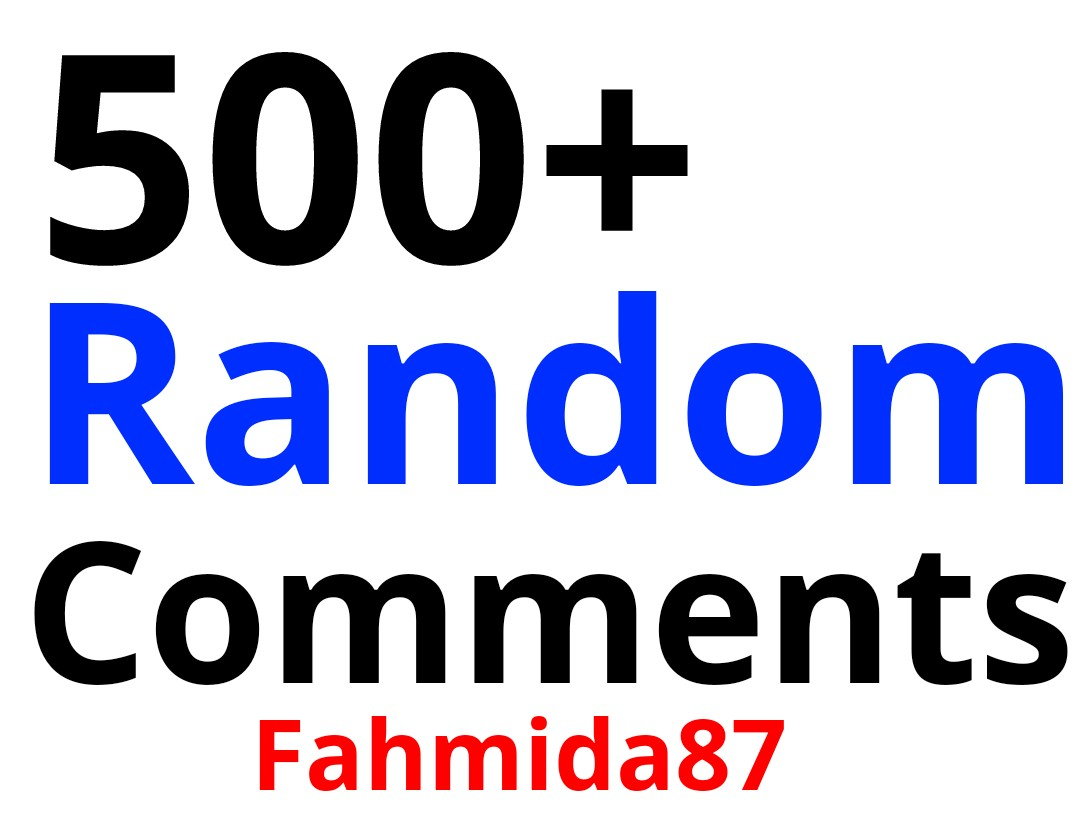 Exclusive Promotion 500 High-Quality Post Random Promotion