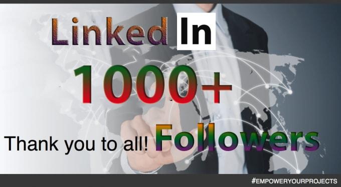 Add Permanent Linkedin Followers