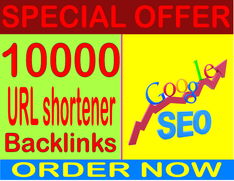SEO Rank- Create 10000 HQ. URL shortener PR7 to PR10 Backlinks Boost SEO Ranking