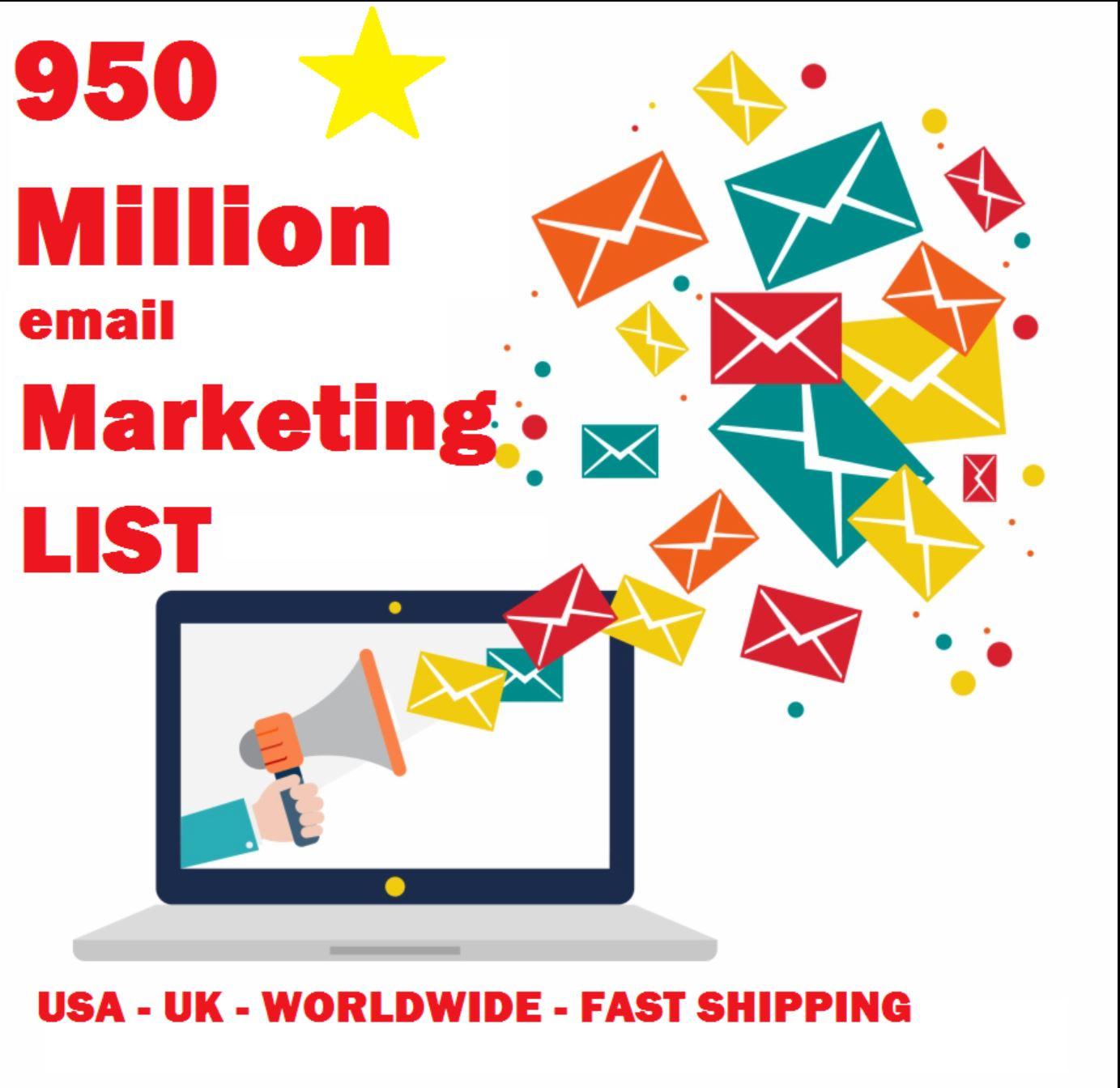 Skyrocket your Marketing with 950 Million Emails + Bonus